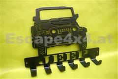 Schlüsselaufhänger Jeep Wrangler