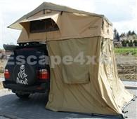 Dachzelt Escape 140 cm mit Vorraum für 3 Personen - Lange Ausführung