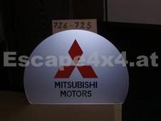 Aufschrift MISUBISHI MOTORS