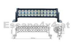 Offroad LED-Leuchte 40 cm 72 W