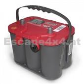 Autobatterie OPTIMA RED 50 AH