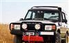 HD-Windenstoßstange - Land Rover Discovery I 1989-1998 +50mm verlängert - mit  Rammschutz